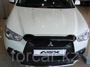 Дефлектор капота SIM для ASX, темный, фото 2
