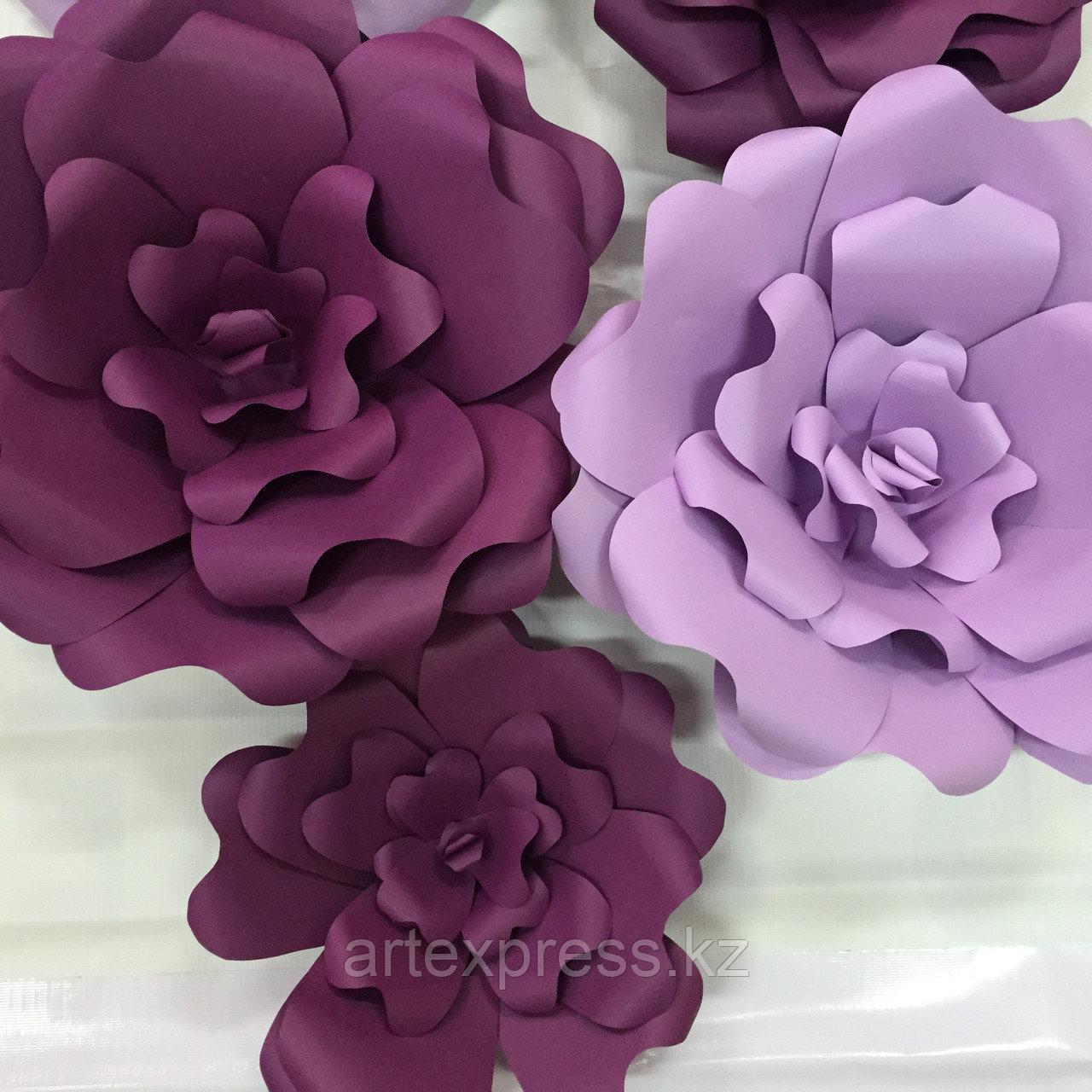 Цветы, 3D баннер, декор.