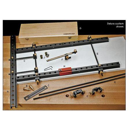 Шаблоны Veritas для сверления отверстий с равным шагом 25мм и 32мм