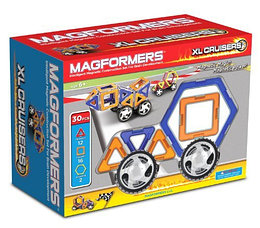 Magformers Магнитный конструктор XL Cruisers Набор из 30 элементов