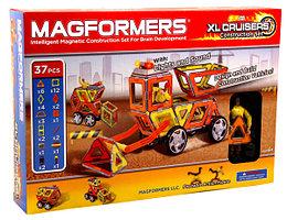 Magformers Магнитный конструктор XL Cruisers Набор Строители из 37 элементов
