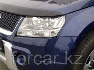 Защита передних фар EGR карбон, SIM темный Suzuki Grand Vitara 2005-, фото 2