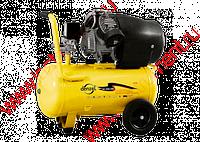 Компрессор пневматический, 2,2 кВт, 350 л/мин, 50 л | DENZEL