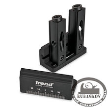 Кондуктор Trend Mini Pocket Hole Jig, для угловых конструкций