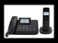 Проводной телефон+Радиотелефон  Texet TX-D7055А Combo черный