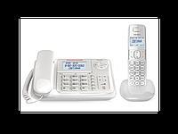 Проводной телефон+Радиотелефон Texet  TX-D7055А Combo белый