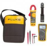 Fluke 117/323 комплект цифровой мультиметр + токоизмерительные клещи