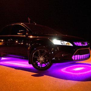 установка подсветки автомобиля