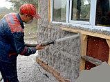 Бесшовный утеплитель Эковата для звукоизоляции и теплоизоляции зданий и помещений, фото 3