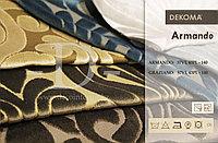 Ткань для обивки велюр с орнаментом и полоской