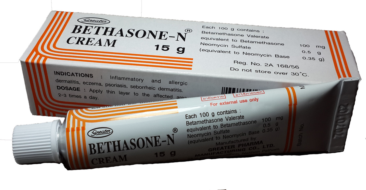 Крем антибактериальный Бетазон - N