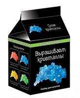 Научные игры мини: Выращиваем кристалы (синие)