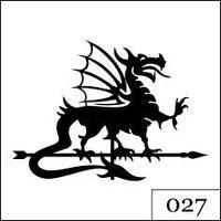 "Флюгер ""Дракон"""