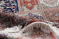 Влажная чистка шелковых ковров