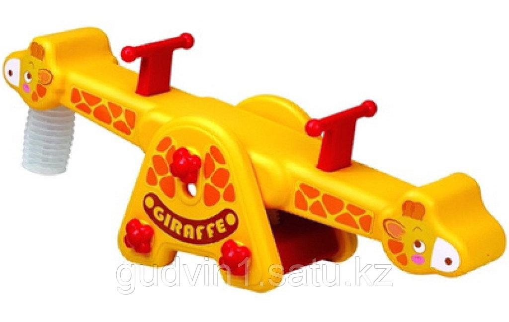 Качели качалка Жираф Edu-Play KU-1501