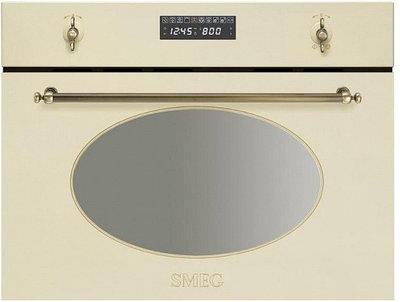 Встраиваемая микроволновая печь Smeg SC845MPO9