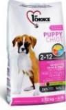 1st Choice Puppy сухой корм для здоровья кожи и шерсти щенков (с ягненком, рыбой и рисом) 14 кг