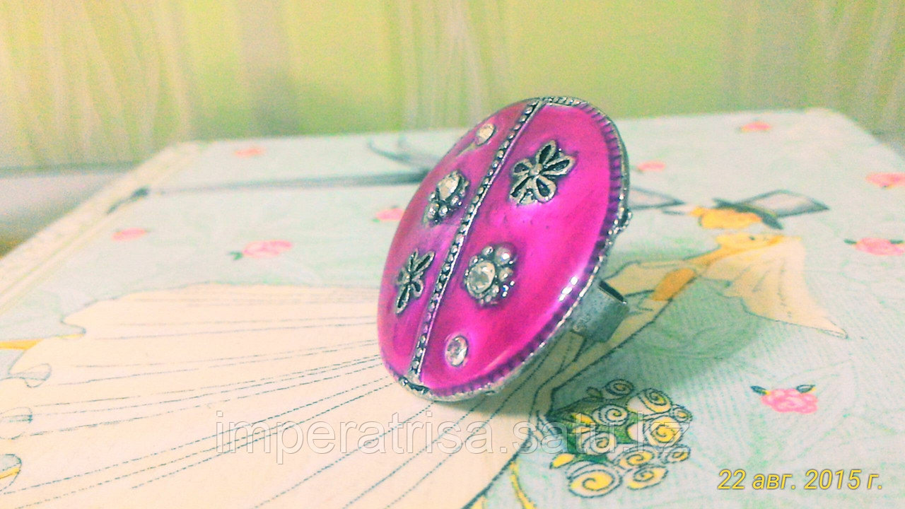 "Кольцо ""Цветущая полянка"""
