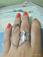 """Кольцо на два пальца """"Айсулу"""""""