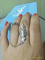"""Кольцо на два пальца """"Махабат"""""""