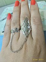 "Кольцо на два пальца ""Томирис"""