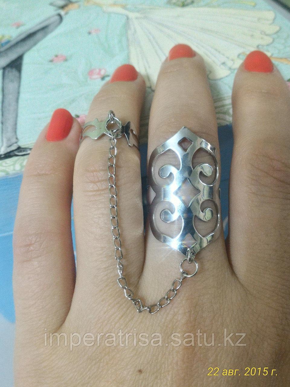 """Кольцо на два пальца """"Айседоре"""""""