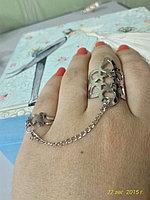 "Кольцо на два пальца ""Каролина"", фото 1"