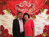 Press Wall с цветами на свадьбу, фото 7