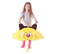 Зонт детский Песик топает по лужам с ушками