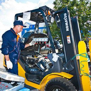 ремонт и техническое обслуживание складских погрузчиков