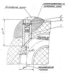 Закладные конструкции ЗК4-5-85 уст.4 115 мм скошенная, с резьбой М33х2 по ТУ 36-1097-85