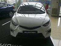 Накладки на фары (реснички) Hyundai Elantra (Avante MD) 2010+, фото 1