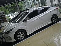 Накладки на пороги Hyundai Elantra (Avante MD) 2010+ , фото 1