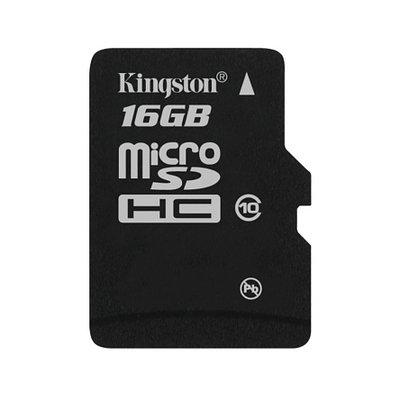 Карта памяти Kingston 16GB microSDHC Class 10 (no adapter) (SDC10/16GBSP)