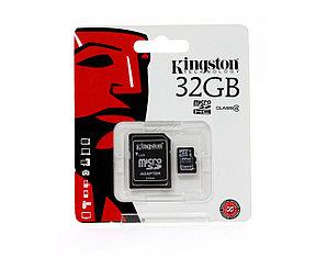 Карта памяти Kingston 32GB microSDHC Class 4 (no adapter) (SDC4/32GBSP)