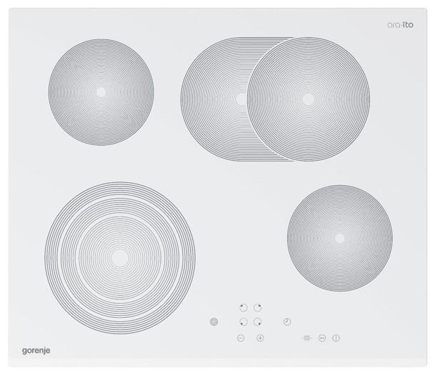 Встраиваемая поверхность Gorenje MECT680-ORA-W