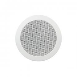 Широкополосный встраиваемый потолочный громкоговоритель, 6 Вт/100 В или 20 Вт/ 16 Ом,белый