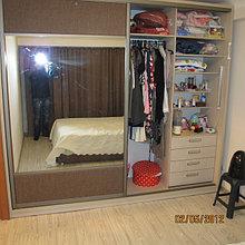 Шкаф-купе с большими дверьми
