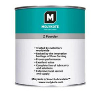 MOLYKOTE  Z-Powder  твердая порошковая смазка на основе дисульфида молибдена (МоS2)