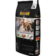Belcando Adult Lamb & Rice Белькандо гипоаллергенный корм для собак с нормальным уровнем активности, 1 кг.