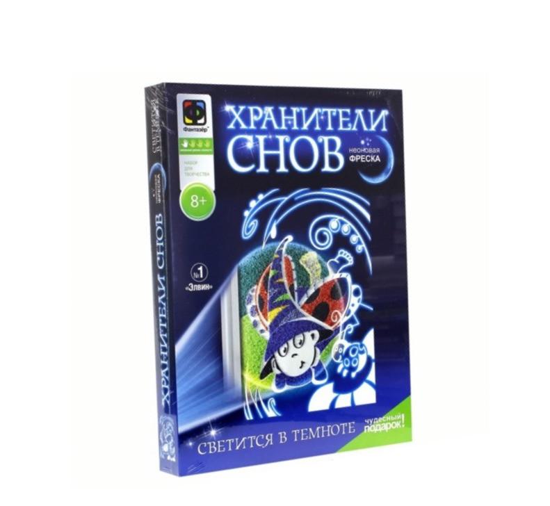 """Фантазёр 430031 Неоновая Фреска Хранители снов №1 """"Элвин"""""""