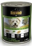 Belcando Best quality Meat with Vegetables Консервы для собак из мяса ТЕЛЯТИНЫ  с овощами, 800г, фото 1