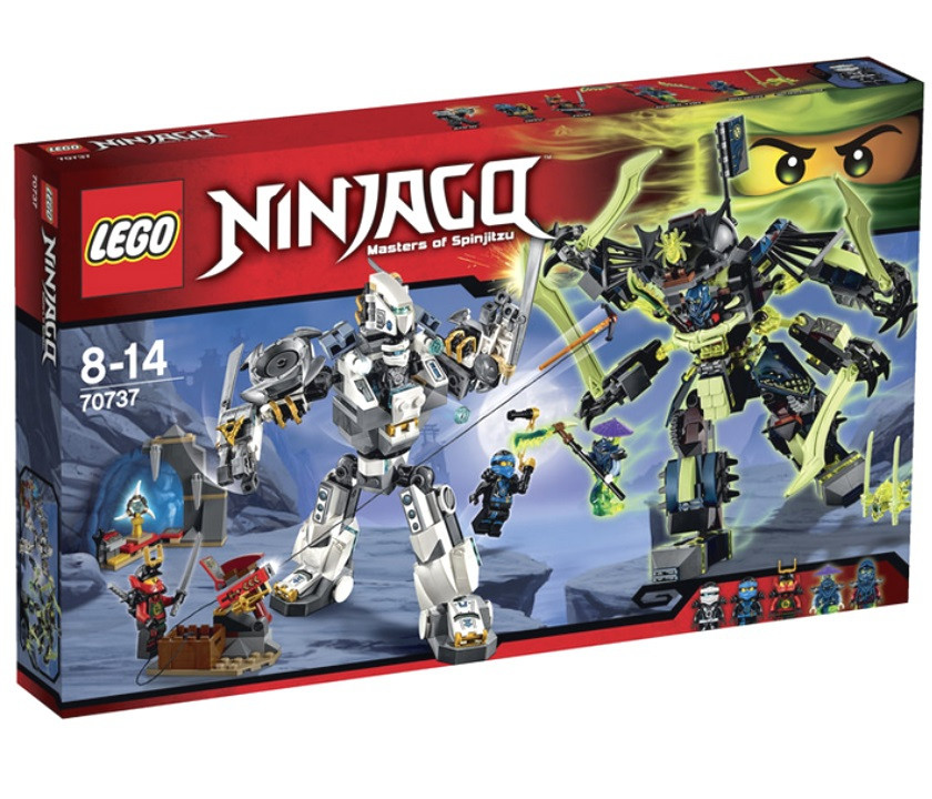 70737 Lego Ninjago Битва механических роботов, Лего Ниндзяго