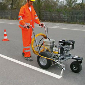 агрегат для разметки дорог