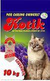 Kotik 10 кг Bentonite Lavender Котик комкующийся наполнитель для кошачьего туалета с запахом лаванды