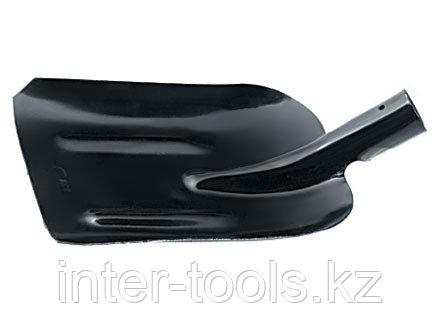 Лопата совковая без черенка с ребрами жесткости