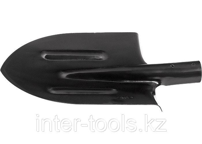 Лопата штыковая без черенка с ребрами жесткости