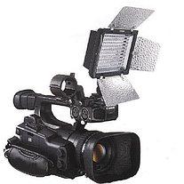 YN-160 II Накамерный LED прожектор фонарь+аккумулятор и зарядное уст., фото 3