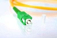 Оптический патч корд (патчкорд) SC/APC - SC/APC SM,SX, 9/125, 2mm, 1m