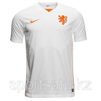 Сборная Голландия футбольная форма гостевая игровая 2015-16